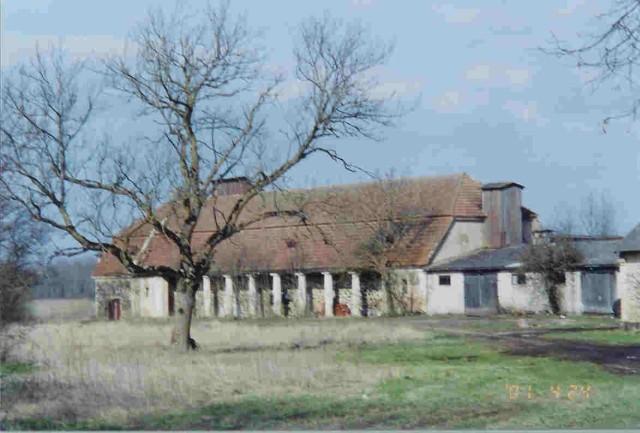 Matsalu mõisa ait-kuivati    Autor Kalli Pets    Kuupäev  24.04.2001