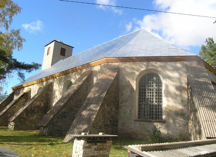 Tõstamaa kirik. Foto: Sille Sombri, 08.10.2008