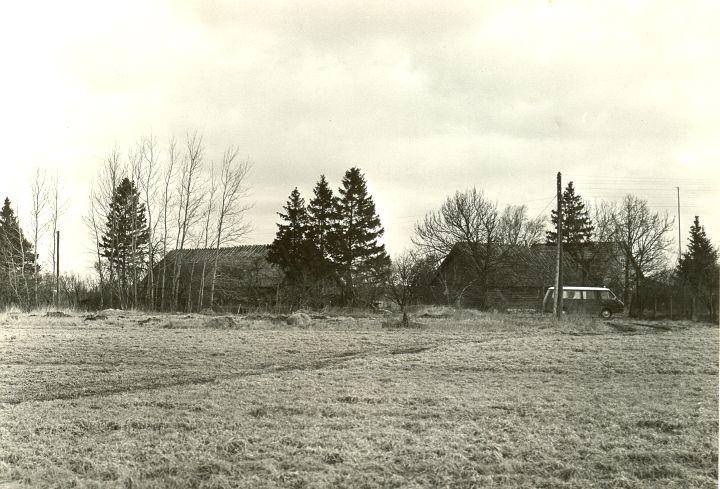 Asukoht - lõunast. Foto: O. Multer, 29.04.1981.