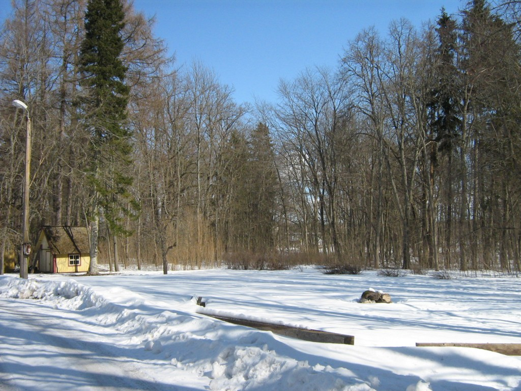 Undla mõisa park, reg. nr. 15689. Vaade lõunast. Foto: M.Abel, kp. 09.04.2013