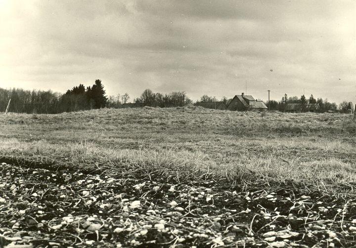Maa-alune kalmistu - lõunast. Foto: O. Multer, 29.04.1981.