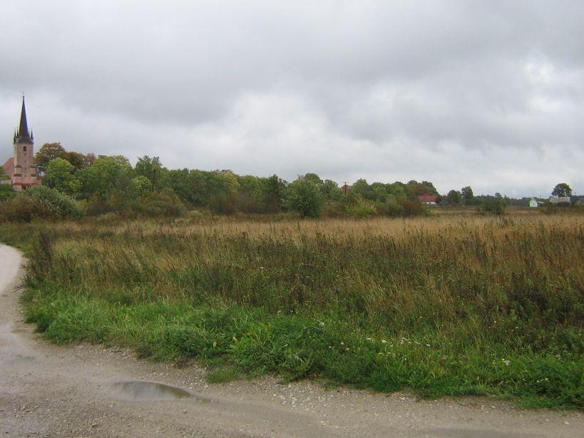 Vaade asulakoha põhjaservast ida suunas.  Autor Ulla Kadakas  Kuupäev  22.09.2007