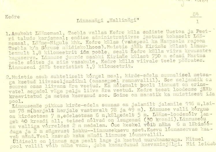 Pass 1  Autor M. Mandel  Kuupäev 01.04.1994