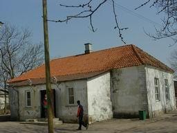 Kuressaare linnakooli hoone.Foto: Lilian Hansar. Kuupäev: 2005