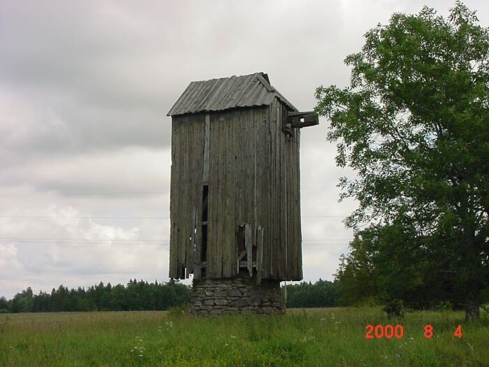 Tuuliku seisukord enne restaureerimist.