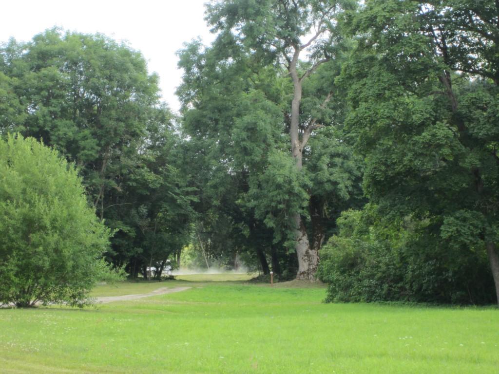 15869 Võhmuta mõisa park, käivad koristustööd. ,foto Anne Kaldam 11.07.2013