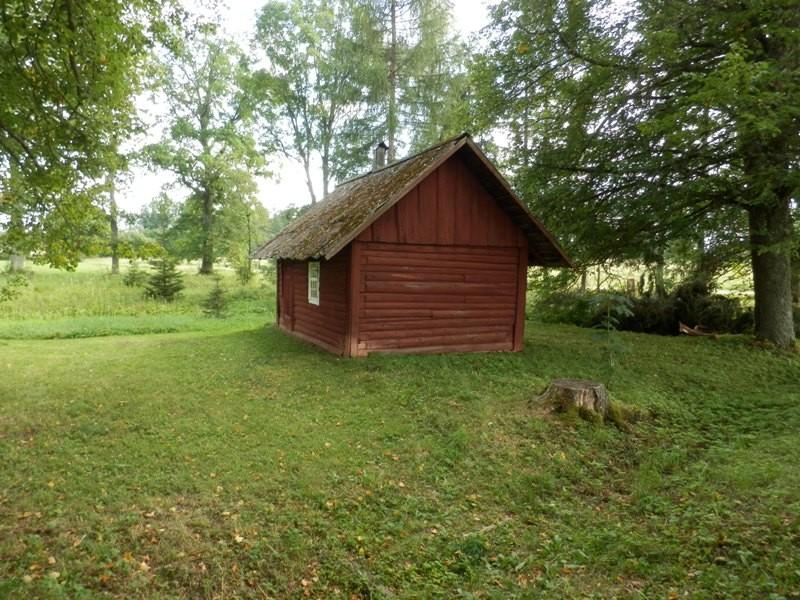 Tätta talu saun taluteelt vaadates Foto Anne Kivi 06.08.2013