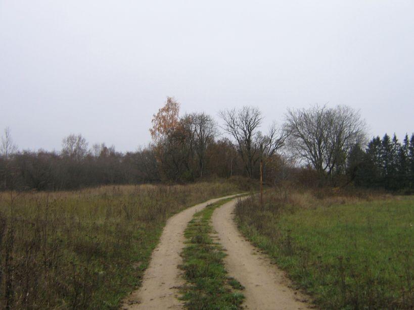 Vaade kalmele põhja poolt. Foto: Ulla Kadakas, 26.10.2007.