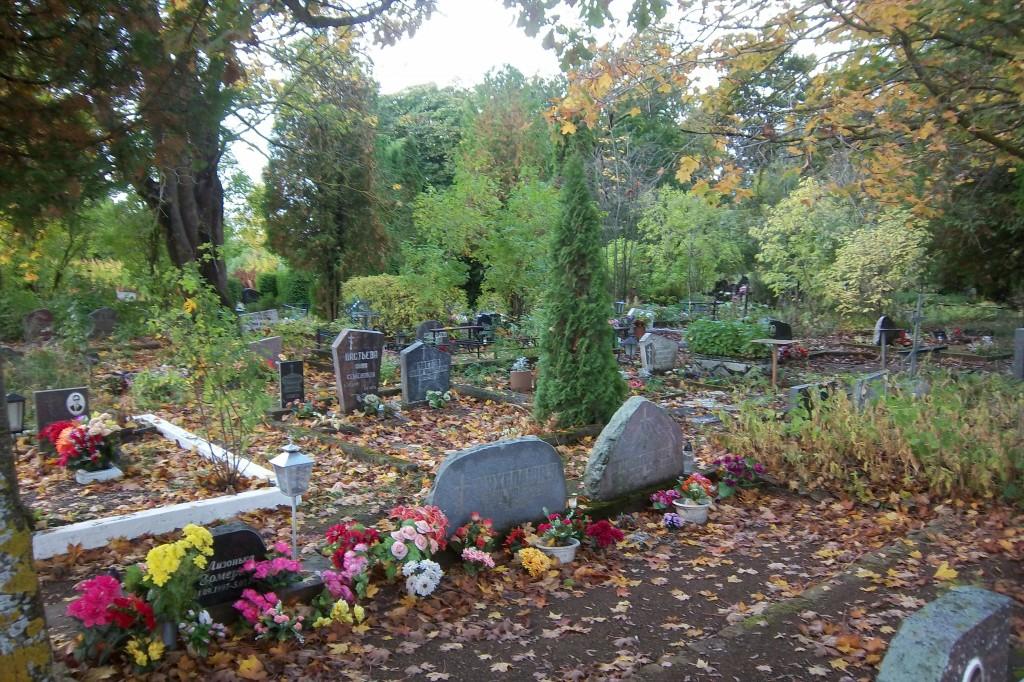 Vaivara uus kalmistu. Foto: Kalle Merilai 27.09.2013.a.