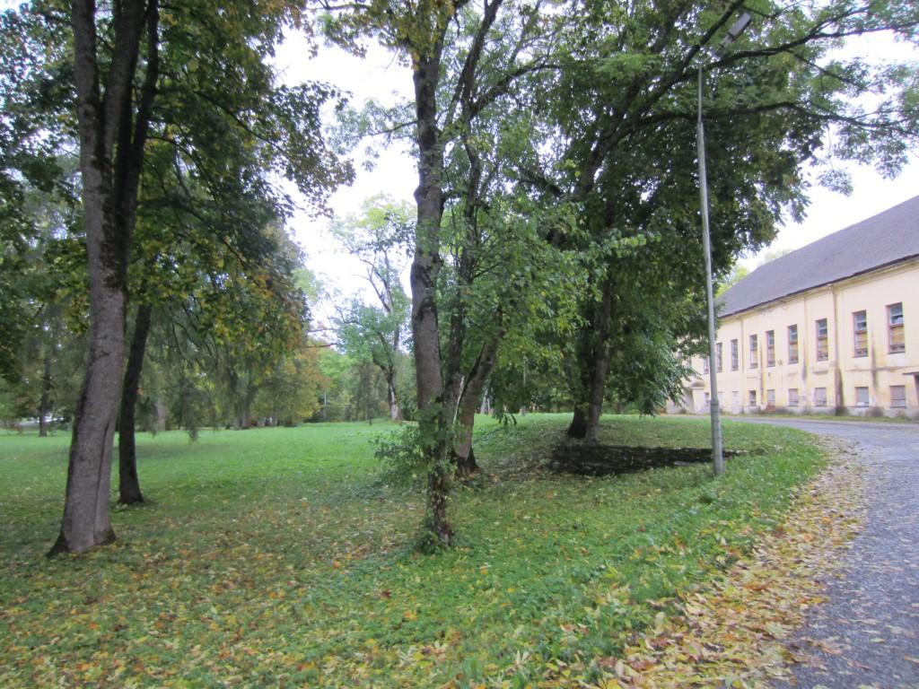 15998 Vinni mõisa park,vaade peahoone esisele pargi osale Anne Kaldam 25.09.2013