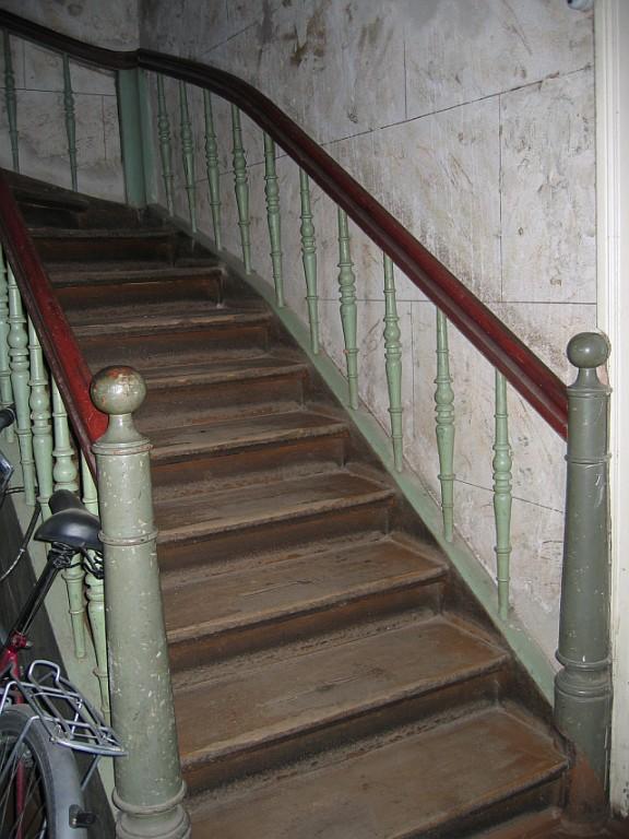 Tähe 7 trepp ja marmoreering ja trepp  Autor Egle Tamm  Kuupäev  26.11.2007