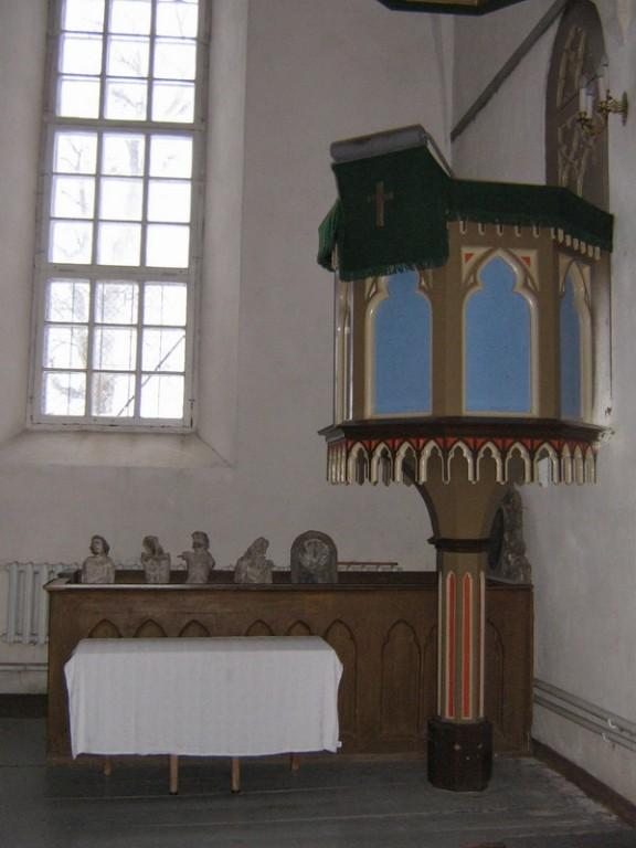 Viru-Jaagupi kirik :16003 vaade seest 15.11.2007  Autor ANNE KALDAM  Kuupäev  15.11.2007