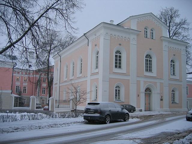 TÜ kirik  Autor Egle Tamm  Kuupäev  03.12.2007