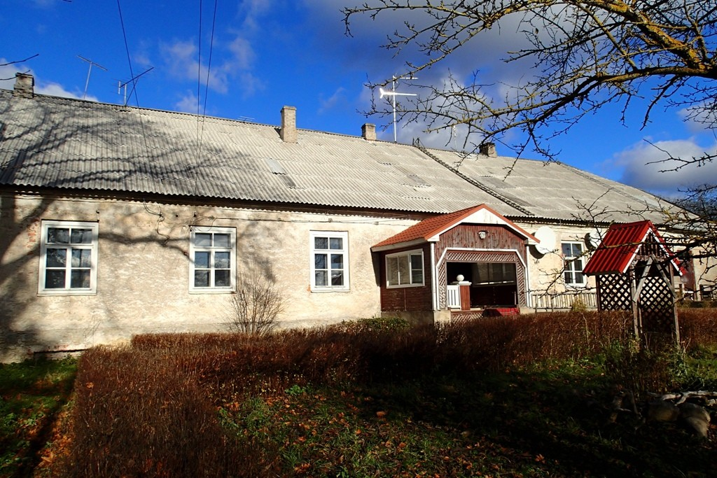 Malla mõisa valitsejamaja, reg. nr 16021. Vaade lõunast. Foto: M.Abel, kp 21.10.13