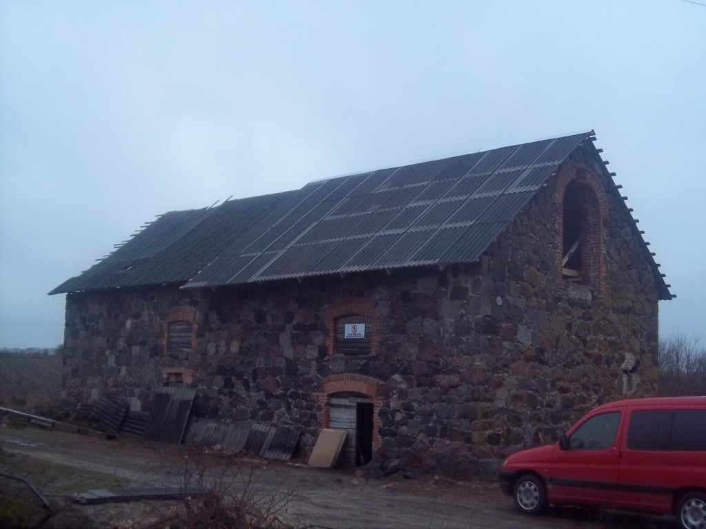 Hõreda mõisa esimene kuivati. K. Klandorf 19.11.2013.