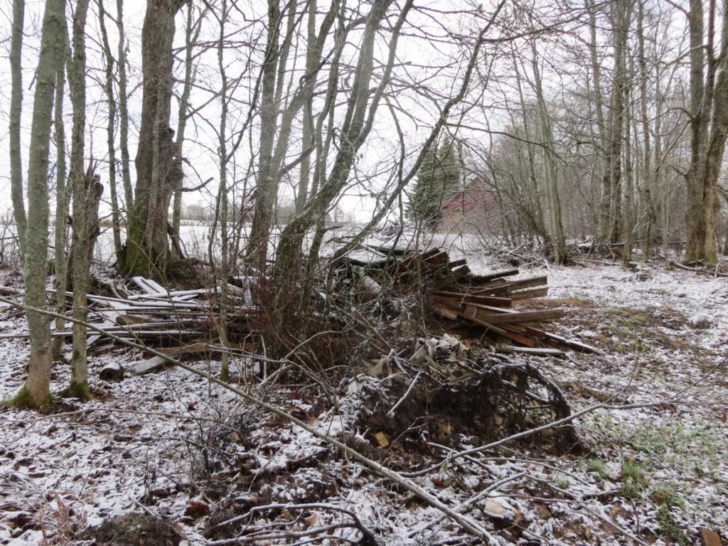 """Ohvrihiis """"Lindsi saarik"""" reg nr 13082. Foto: Ingmar Noorlaid, 25.11.2013."""