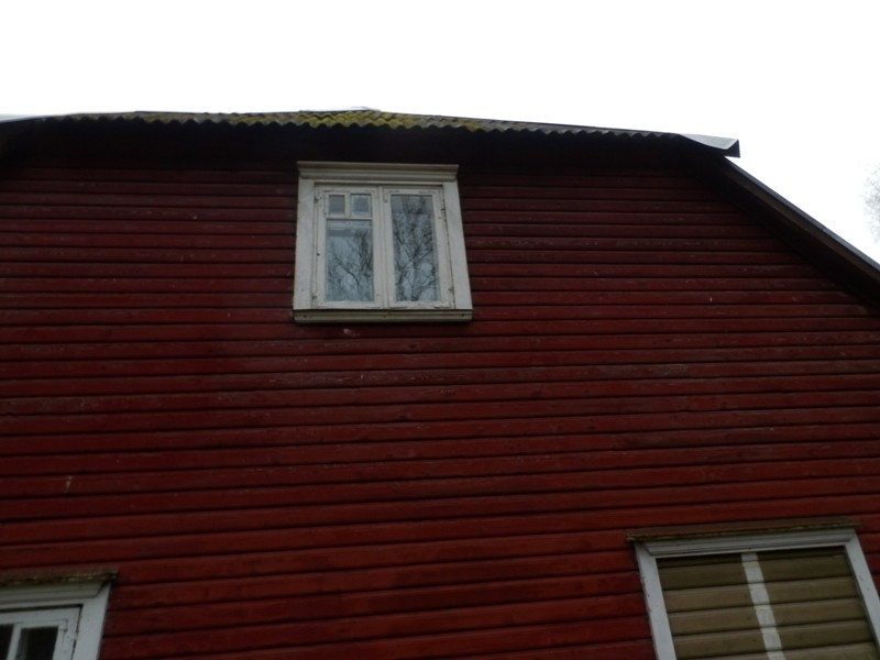 14558 Suure-Kõpu mõisa valitsejamaja, 18.saj. vana aken Foto Anne Kivi 07.11.2013