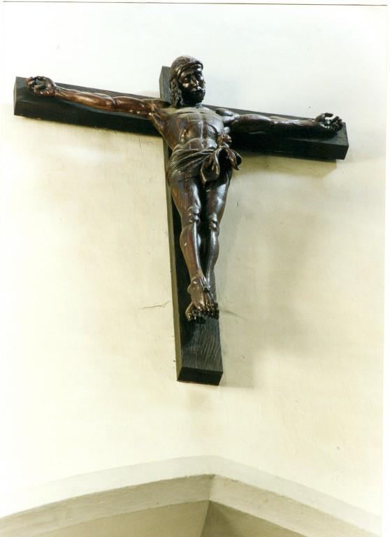 Krutsifiks, koopia Veit Stossi tööst. 19. saj. (figuur tamm, peits) Foto: Jaanus Heinla, 2000