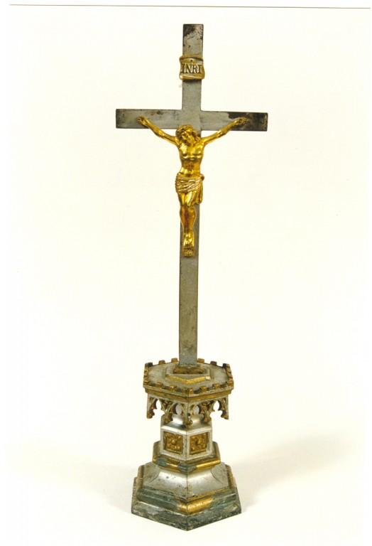 Krutsifiks (altari-). E. Drossi töökoda, 19. saj. II pool Foto: Jaanus Heinla, 2000