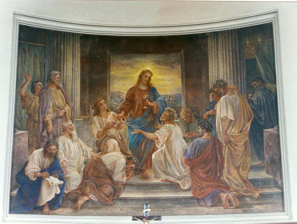 Altarimaal «Püha õhtusöömaaeg», K. T. v. Neffi järgi S. v. Kügelgen, 1889 (fresko) Foto: Jaanus Heinla, 2000