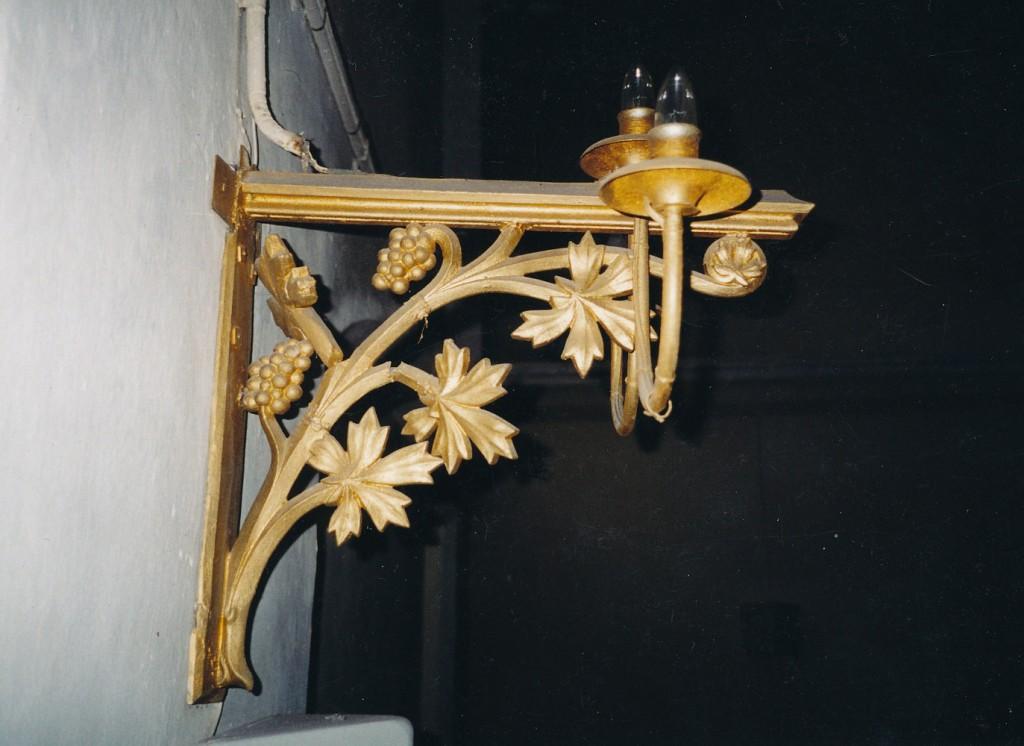 Seinalühter kolme tulega. 19. saj. (valutsink, pronksvärv) Foto: L. Krigoltoi, 2001