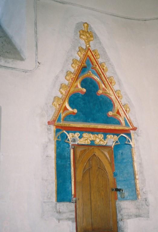 Sakramendinišš. 15. saj. (paas), 20. saj. (polükroomia, kullatis) Foto: L.Krigoltoi, 2003