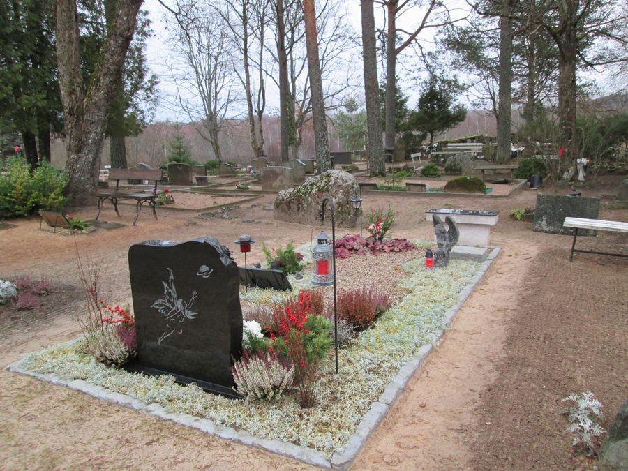 Otepää uus kalmistu Foto autor M-L Paris 2013
