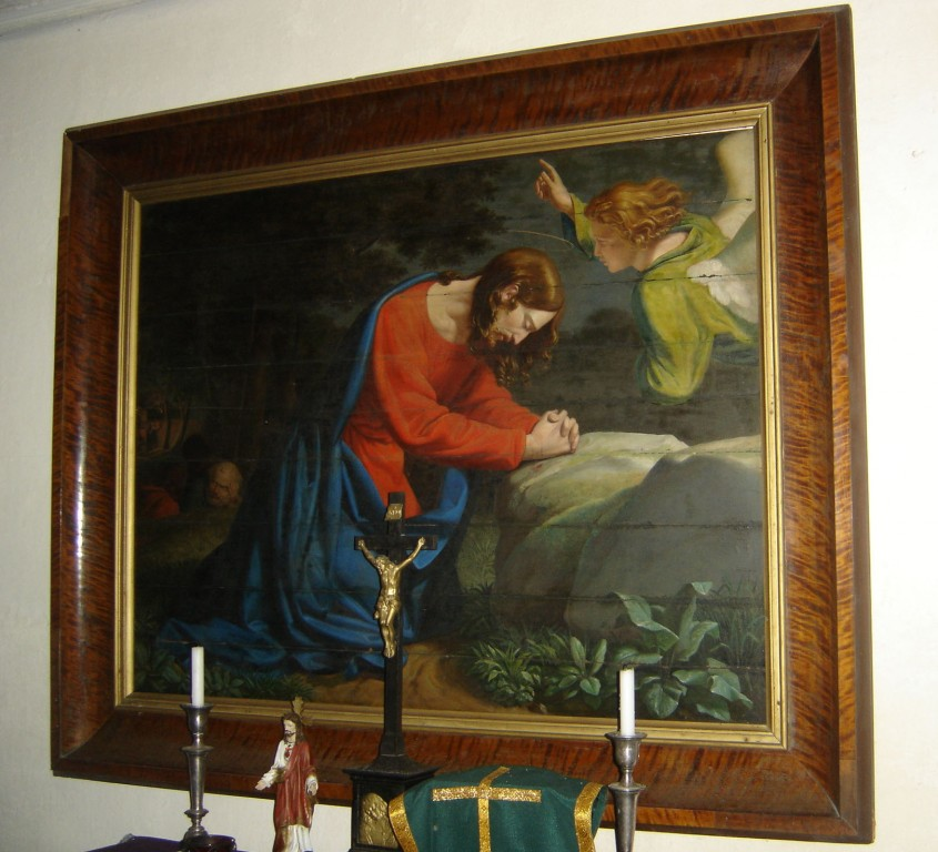 """Maal """"Kristus Õlimäel"""". Fr. L. v. Maydell, 1835 (õli, puit) Foto: Sirje Simson, 11.07.2007"""
