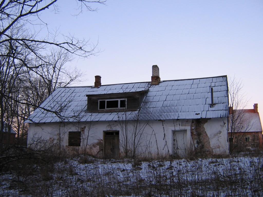 Õisu mõisa pesuköök Autor A.Kivi  Kuupäev  04.01.2008