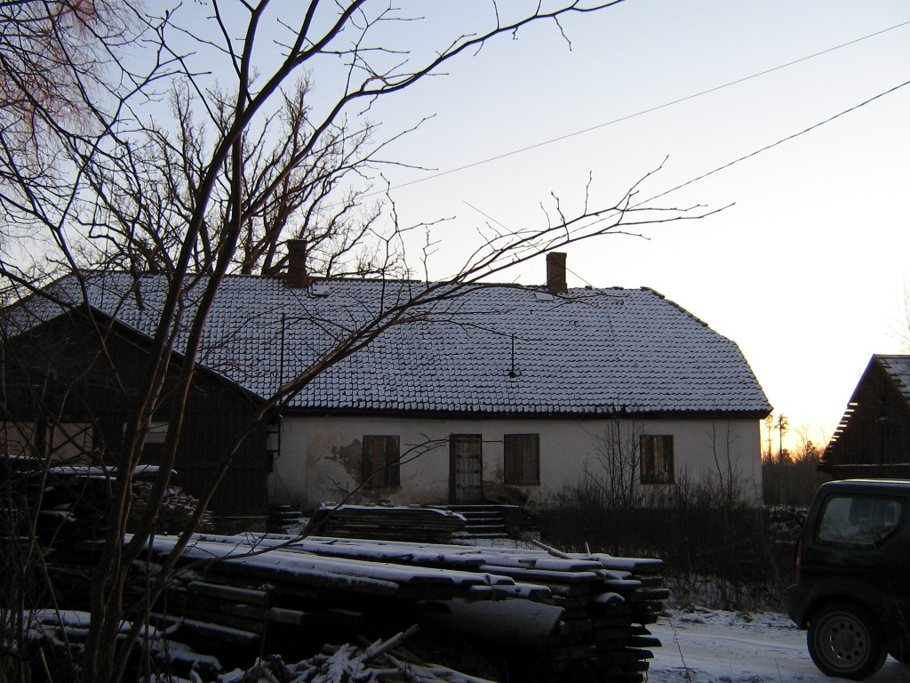 Vaade Õisu mõisa kõrtsile hoovilt Autor A.Kivi  Kuupäev  04.01.2008