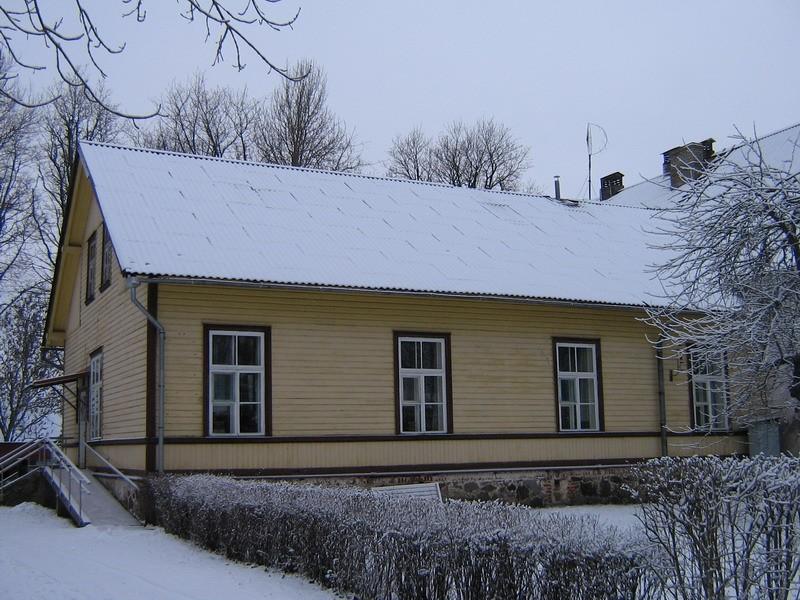 Undla mõisa peahoone :15688, vaade lõunast-läänepoolsele juurdeehitusele-  Autor Anne Kaldam  Kuupäev  23.01.2008