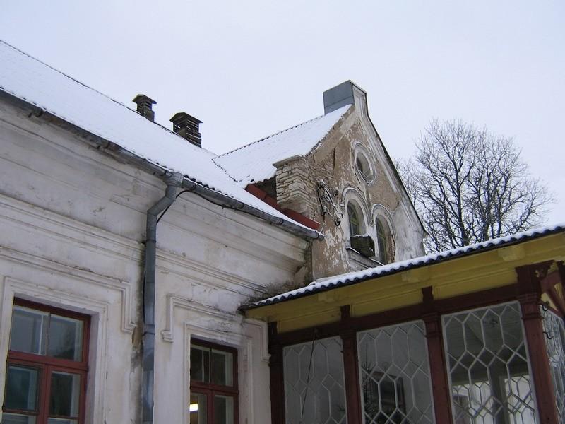 Undla mõisa peahoone :15688, vaade idafassaadi  Autor AnneKaldam  Kuupäev  23.01.2008