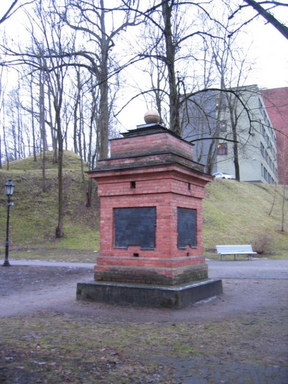 K. E. von Baeri 19 rahvaste monument. Foto Egle Tamm, 18.02.2014.