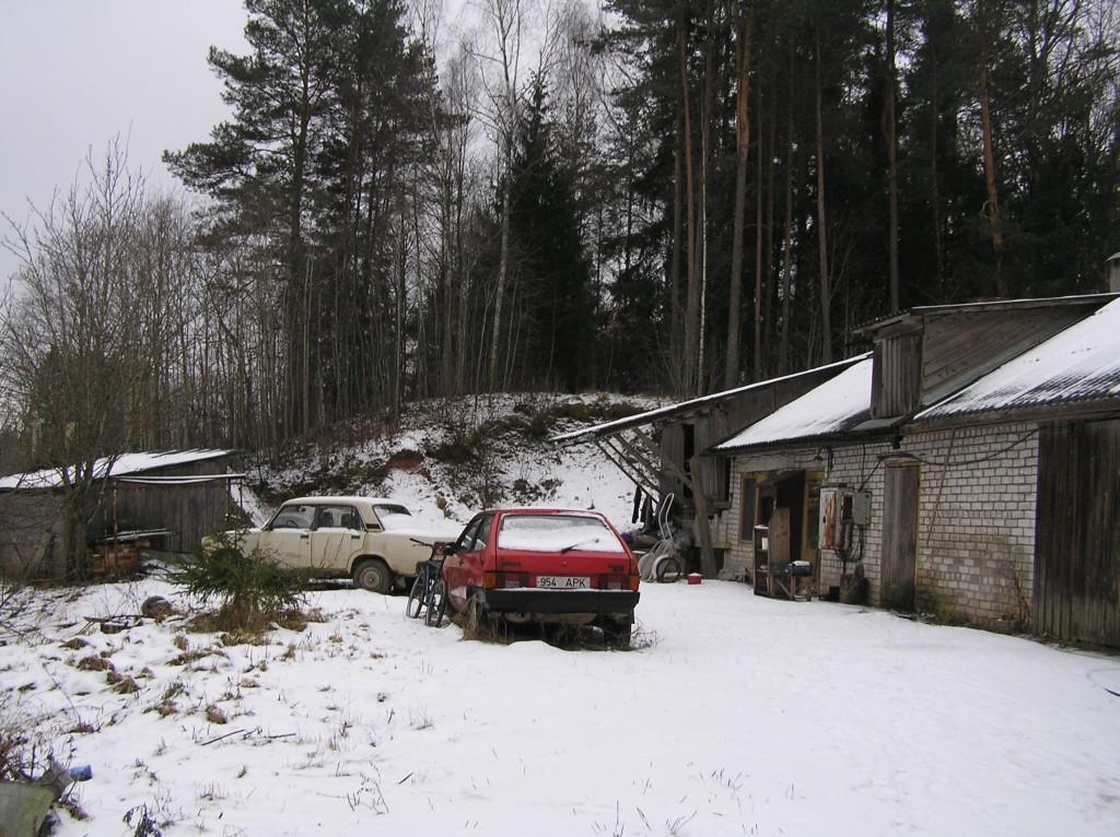 Kalme põhjaots. Foto: Martti Veldi, 05.02.2008.