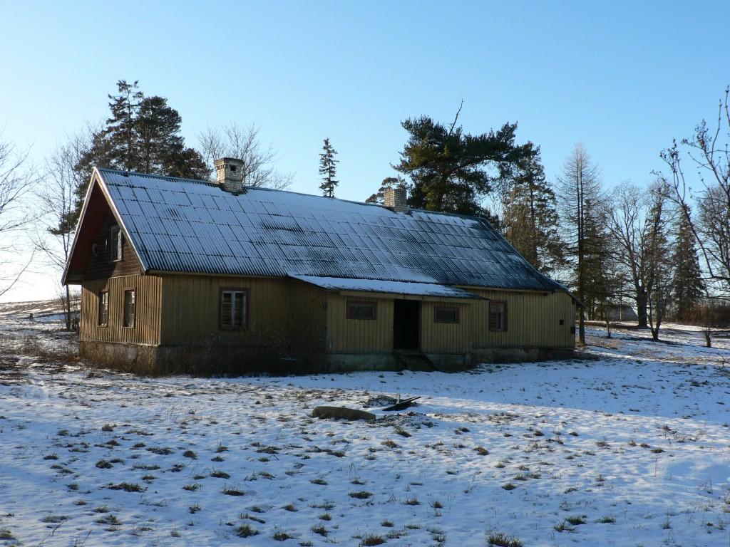 Käravete mõisa aednikumaja (vaade kirdest)  Autor Tavo Tamm  Kuupäev  28.01.2008