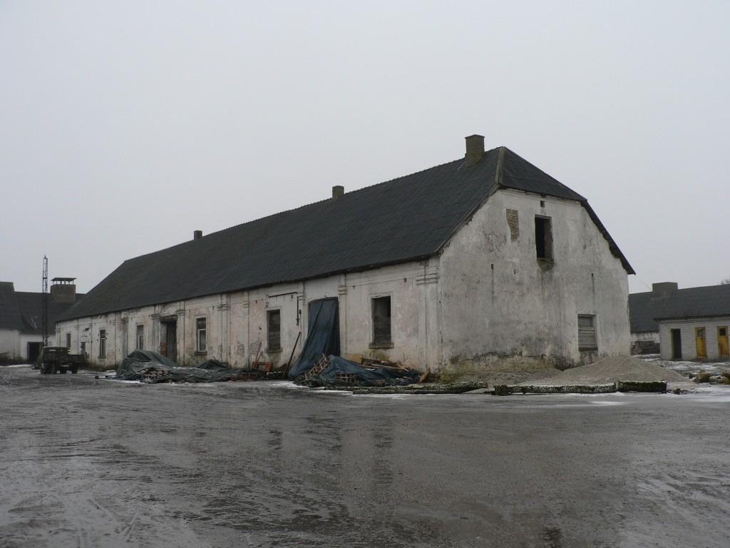 Ervita mõisa ait vaade kirdest  Autor Tavo Tamm  Kuupäev  07.02.2008