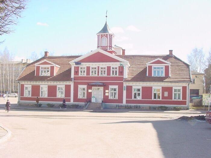 Valga Raekoda Foto. Muinsuskaitseamet 2008