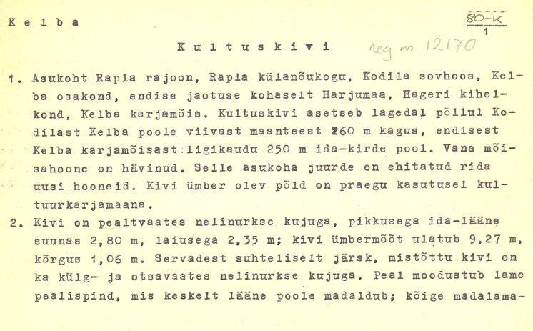 Pass 1  Autor E. Tõnisson  Kuupäev 01.11.1976