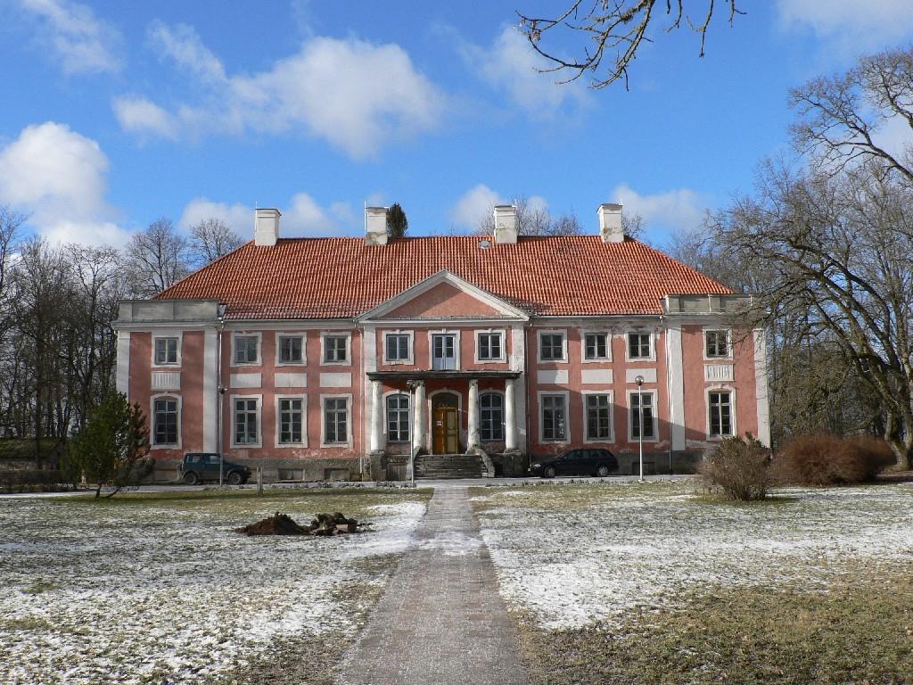 Sargvere mõisa peahoone  Autor Tavo Tamm  Kuupäev  14.02.2008