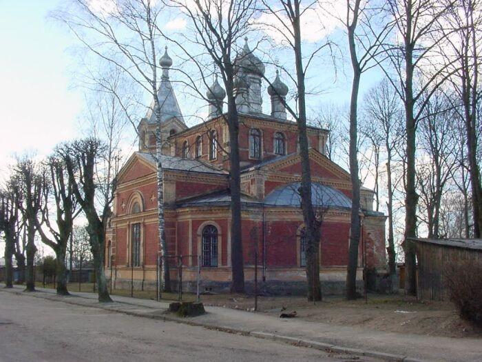 Valga õigeusu kirik Foto: M-L Paris 2010