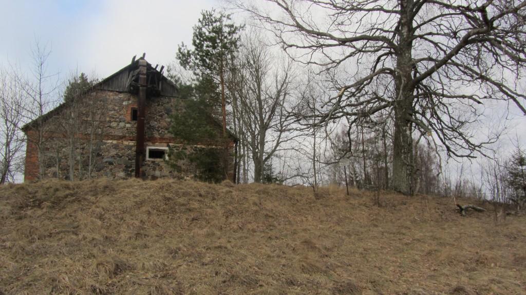 """Kalmistu """"Kalgiahju mägi"""" reg nr 13185. Foto: Ingmar Noorlaid, 19.02.2014."""