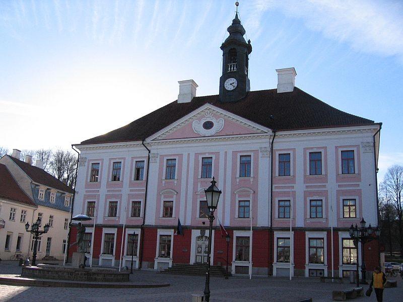 Raekoda eestvaates. Foto Egle Tamm, 18.02.2014.