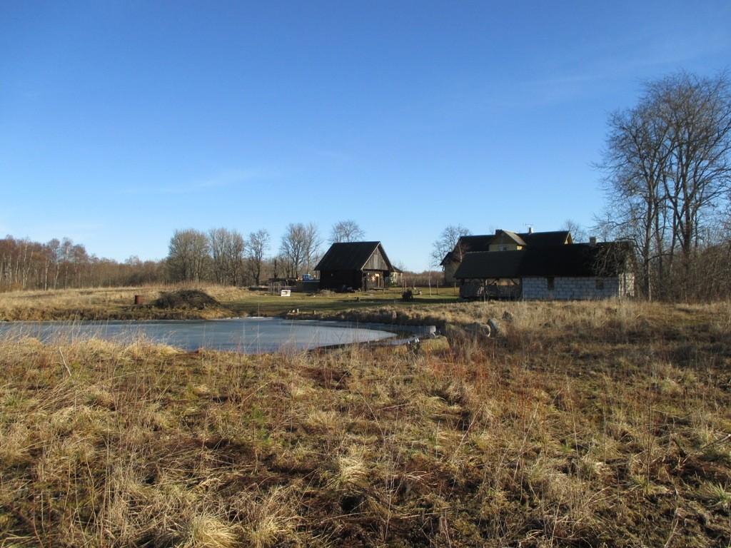 Asulakoht reg nr 12095 Põlli külas, vaade Mikuri talu poolt Hiie talu suunas. Foto: K. Klandorf, 11.03.2014.