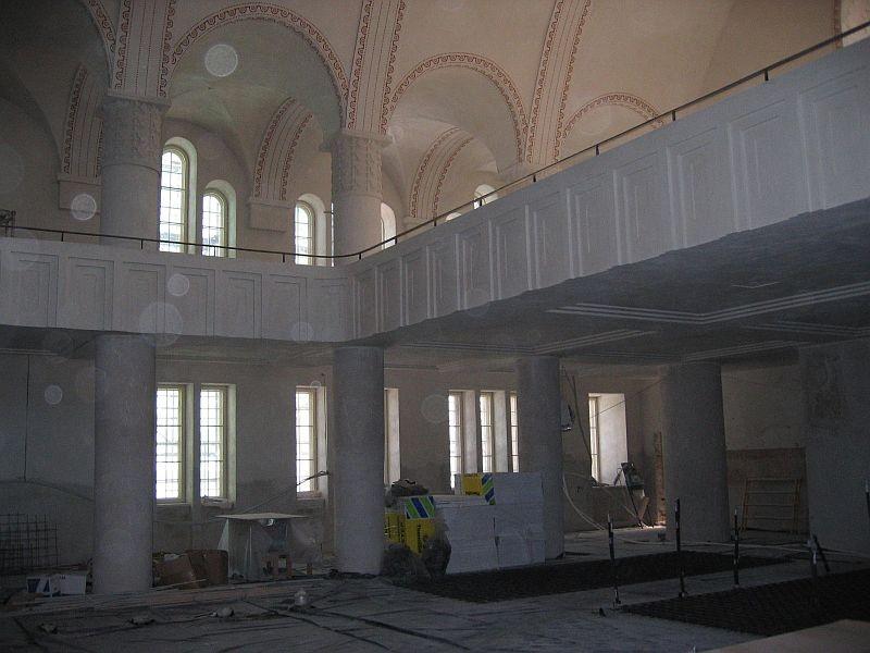 Pauluse kirikusaali vaade vääridele. Foto Egle Tamm, 12.03.2014.