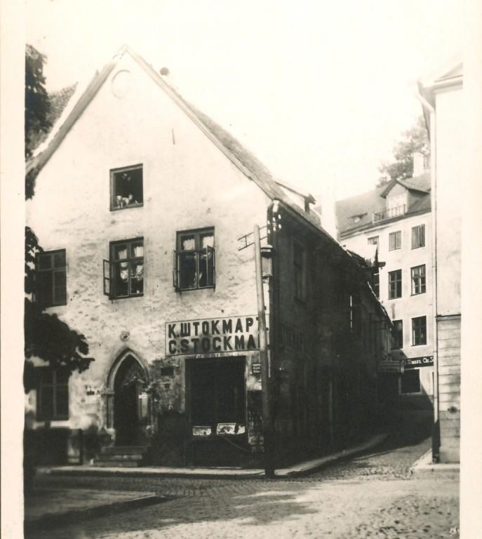 Rüütli 2 enne 1927. aastat.