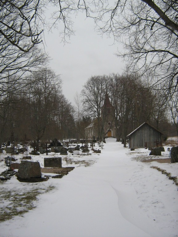 Vaade Leesi kirikuaeda  Autor Ly Renter  Kuupäev  06.03.2008