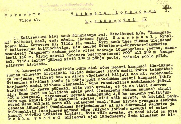 Pass 1  Kuupäev 01.06.1973