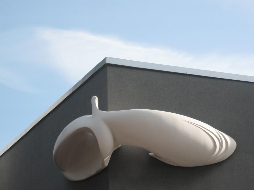 Skulptuur «Tuvi», R. Kuld, 1975 (klaasplast). Foto: V. Leitsar, 07.05.2014.