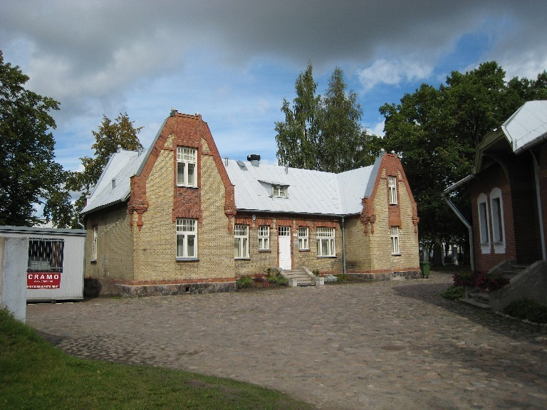 Mere pst 7A kõrvalhoone  Autor Liina Hansen  Kuupäev  21.07.2007