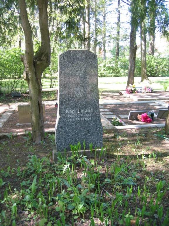 Vanale Eesti sõduri hauale on tänapäeval pandud uus tähis. Foto Egle Tamm, 16.05.2014.